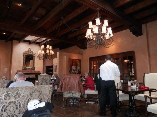 Fuego Restaurant: Fuego's warm, rich atmosphere