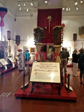 Bishop Museum: Kahili Room