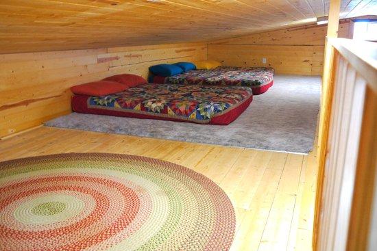 Canyonlands Lodging: Loft beds