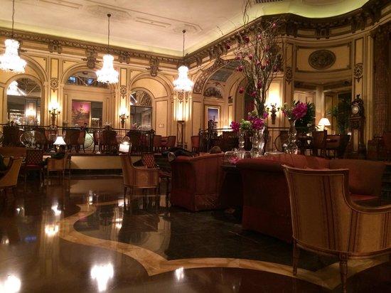 The St. Regis Rome: Beautiful lobby.
