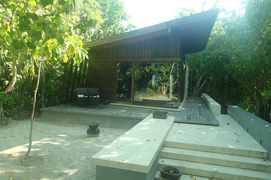 Park Hyatt Maldives Hadahaa : The beach villa with private access to beach..