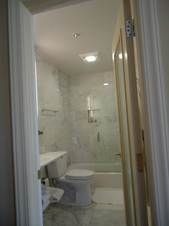 Chestnut Hill Hotel: Nicely sized bathroom