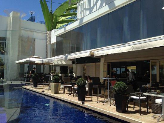 Vivere Hotel : The restaurant on the 31st floor