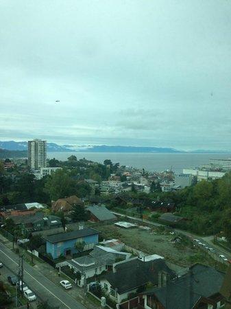 Hotel Manquehue Puerto Montt: Vista al océano piso 11