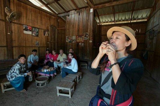 A Lisu Lodge village tour