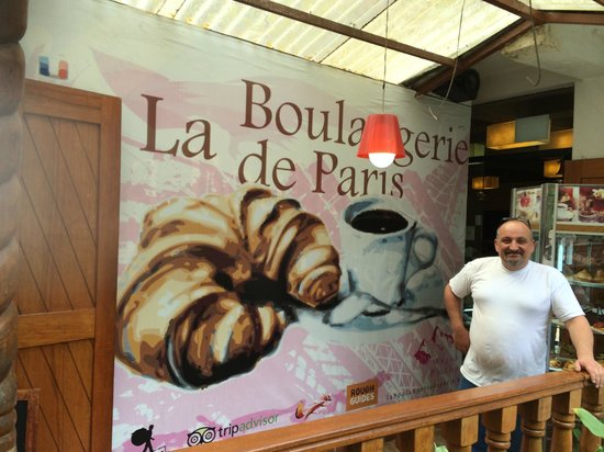 La Boulangerie de Paris: à aguas calientes