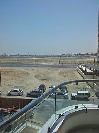 Gulf Oasis Hotel Apartments : The view!