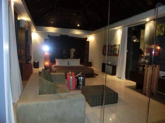 Kembali Villas: Master bedroom