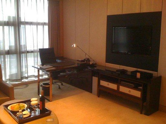 Hilton Guangzhou Baiyun : Sitting Room