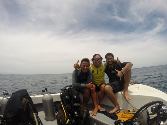 Diverse Borneo: with the two awesome instructors