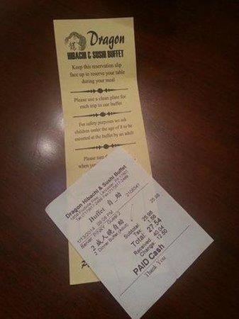 info directions hours pricing picture of dragon hibachi sushi rh tripadvisor com golden dragon buffet prices golden dragon buffet prices