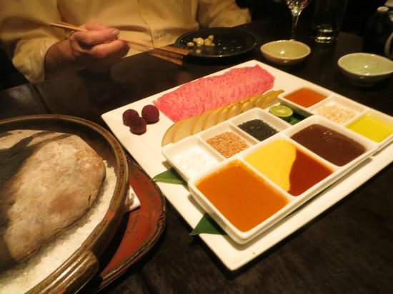 Sushisamba: Kobe Beef BBQ on Hot Stone