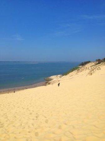 Dune du Pilat : вид в сторону Аркашона