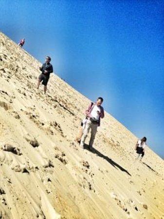 Dune du Pilat : уклон