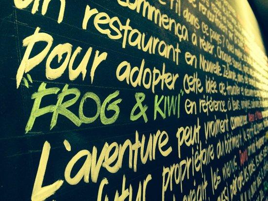 Frog and Kiwi: The story of Frog & Kiwi