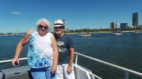 Surfers Paradise River Cruises: The free photo of us on board.