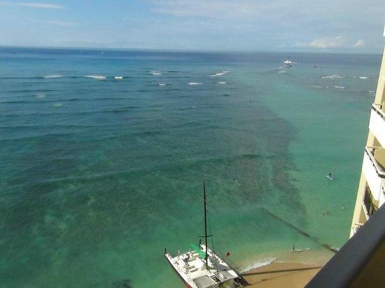 Sheraton Waikiki: オーシャンビュー