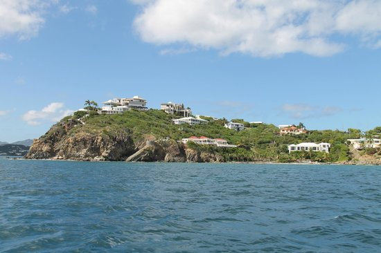 Cruise Ship Excursions - Champagne Catamaran : the view along the way