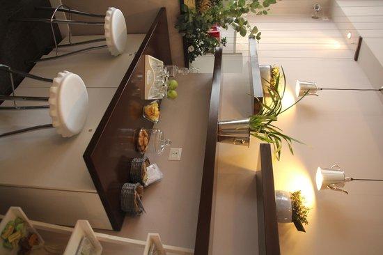 Chic & Town Luxury Rooms: c'est ici qu'aura lieu le petit déjeuné
