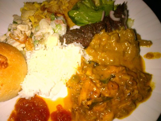 Hotel L'Archipel : octopus curry