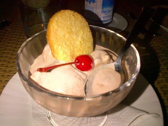 Hotel L'Archipel : yummy dessert