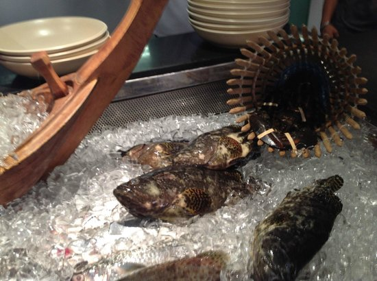 The Andaman, A Luxury Collection Resort : Fresh fish at the Jala
