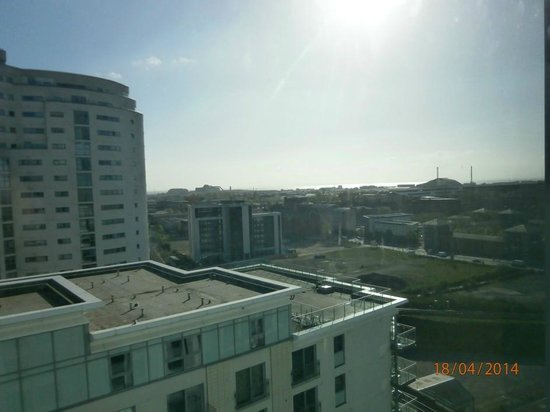 Radisson Blu Hotel, Cardiff: Cardiff Bay in the distance