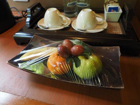 Nakamanda Resort & Spa: welcome fruit