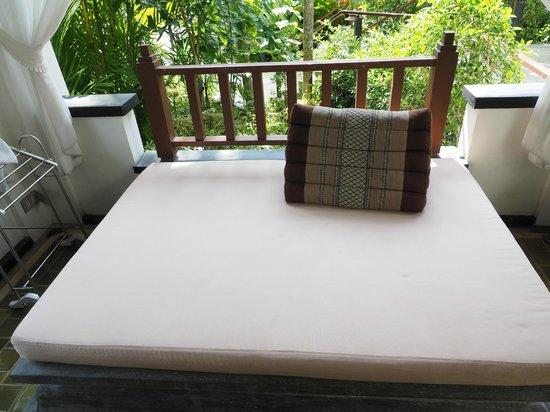 Nakamanda Resort & Spa : daybed