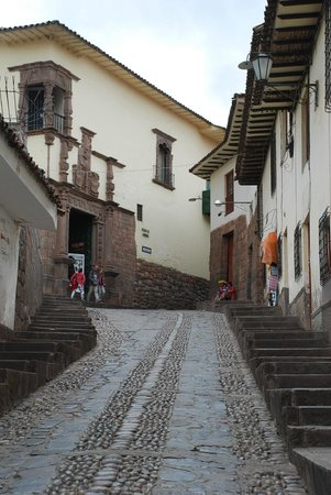 Museo Inka : Road from square to museum
