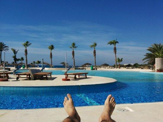Adams Beach Hotel: Από την πισίνα