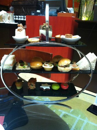 The Fullerton Hotel Singapore: Afternoon tea selection