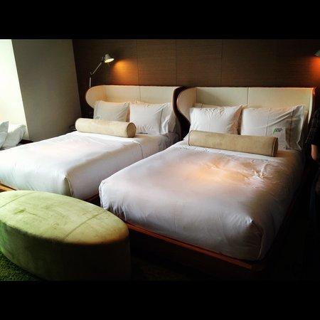 W Taipei : マーベラススイート「ベッドルーム」