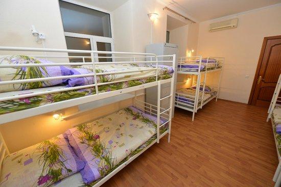 Apricot Hostel : 8-ми местный женский номер