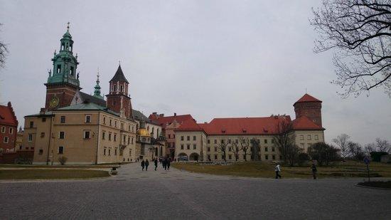 Château roya du Wawel : Центральная площадь замка