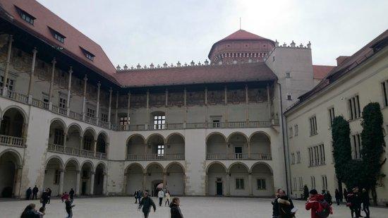 Château roya du Wawel : Внутренний двор