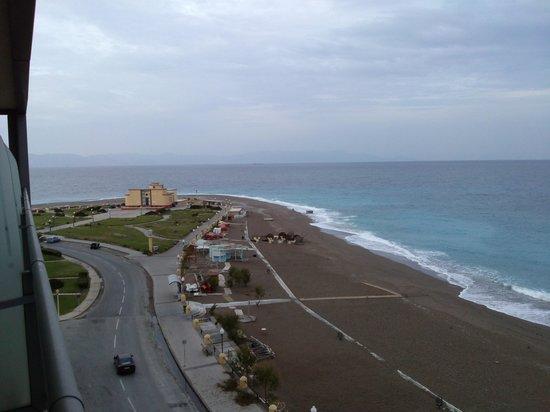 Hotel Mediterranean: Θέα,θέα,θέα!!!