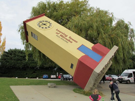Puzzling World: The Leaning Tower of Wanaka