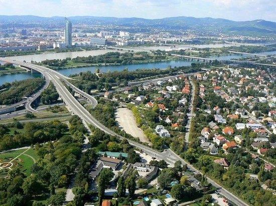 Donauturm: вид сверху