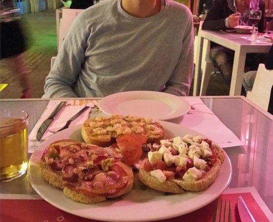 La Pappardella : Crostini's
