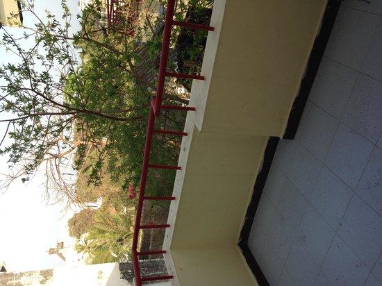 Heranca Goesa: Balcony, room 2