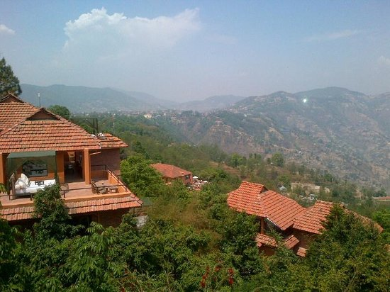 The Dwarika's Resort-Dhulikhel: View from Room