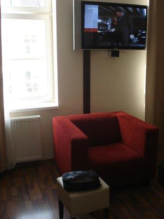 Grand Hotel: sala de estar