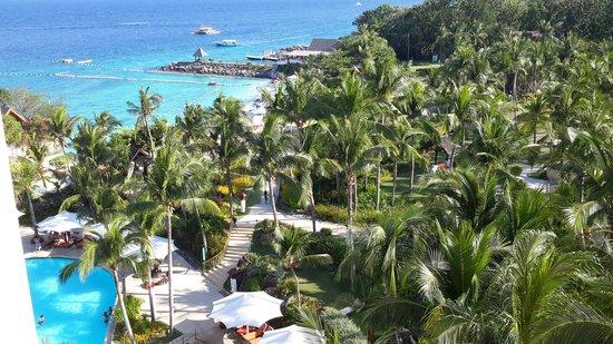 Shangri-La's Mactan Resort & Spa: View from the ocean wing premier room