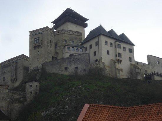 Trencin Castle: castillo