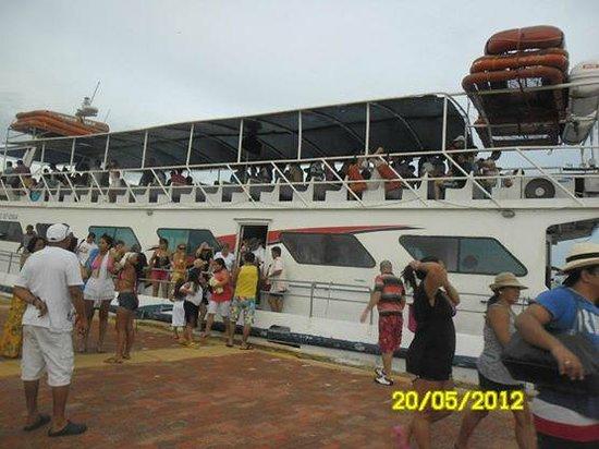 Tours en Islas del Rosario: Barco viaje Islas del Rosario