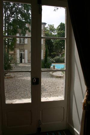 Chateau de Villereglan: site out of the Orangerie