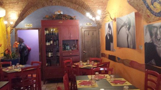 Taverna Gargantuà: Sala interna