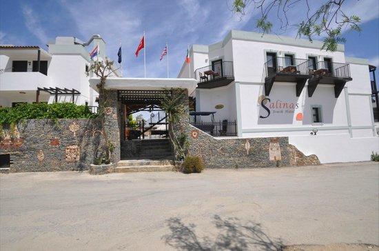 Salinas Beach Hotel : Açık Alanları