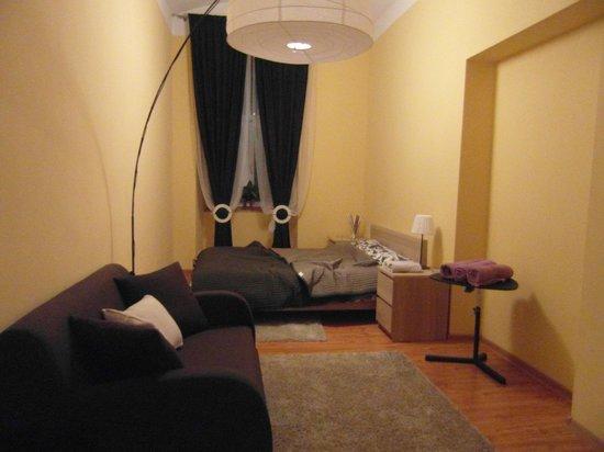 Appena Hostel : habitación con cama matrimonio (apartamento)